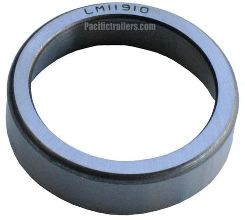 Bearing Race/Cup #LM11910 for use with LM11949 Bearings - Pacific Boat Trailers