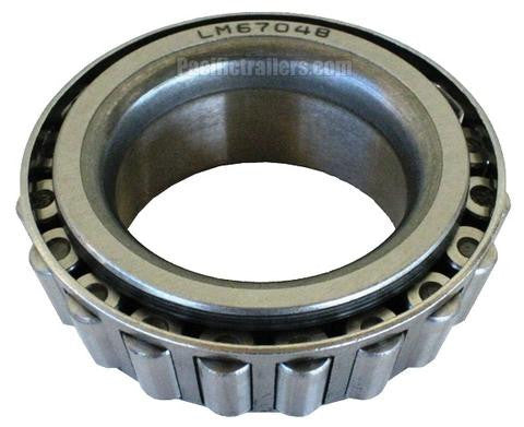 "1.250"" ID Trailer Wheel Bearing for 5,000-6,000 lb Axles #BR-LM67048 - Pacific Boat Trailers"