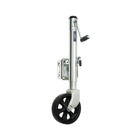 FULTON 1,500 lb. Swing Away Trailer Tongue Jack #XP15-0101 - Pacific Boat Trailers