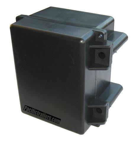 Plastic Battery Box Case for Electric over Hydraulic Brake Systems. #PTC-BB-1 - Pacific Boat Trailers
