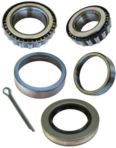 "Trailer Bearing Kit, 1 1/4"" x 1 3/4"" Spindle, 14125A/25580 Bearings - Pacific Boat Trailers"