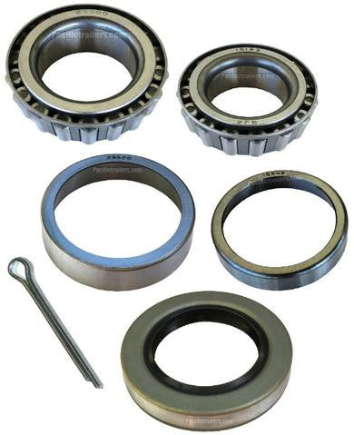 "Trailer Bearing Kit, 1 1/4"" x 1 3/4"" Spindle, 15123/25580 Bearings - Pacific Boat Trailers"