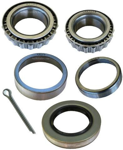 "Trailer Bearing Kit, 1 1/4"" x 1 3/4"" Spindle, LM67048/25580 Bearings - Pacific Boat Trailers"