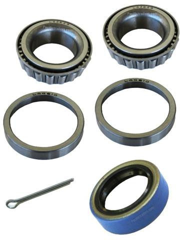 "Trailer Bearing Kit, 1 1/16"" Spindle, L44649 Inner/Outer Bearings/44610 in/out race - Pacific Trailers"