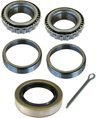 "Trailer Bearing Kit, 1 1/4"" Spindle, LM67048 Inner/Outer Bearings, Seal 15234 - Pacific Boat Trailers"