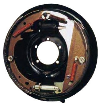 "12"" Free-Backing Left Brake Assembly. #HYDRAULIC/SURGE BRAKE/12'L-Painted - Pacific Boat Trailers"