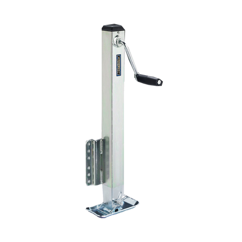 Fulton 2,500lb. Trailer Jack, Drop Leg w/ Mounting Hardware #HD2500-0101 - Pacific Boat Trailers