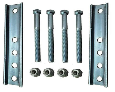 Bolt-On Mounting Hardware for Fulton Trailer Jacks #500286 - Pacific Boat Trailers