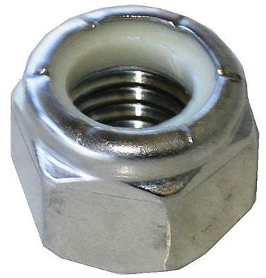Stainless Steel Nylon Insert Lock Nuts - Pacific Boat Trailers