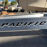 Pacific Trailers Logo Sticker - Pacific Boat Trailers