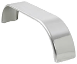 Stainless Steel Fenders, 9 x 68 (1-pair) Flat Top