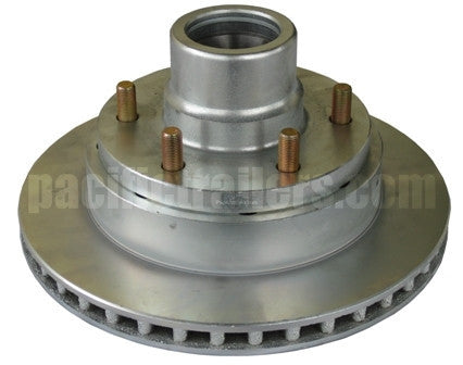 Hub/Rotor Assembly for UFP DB-42 Disc Brakes, 6 lug - Pacific Boat Trailers