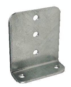 "Galvanized Bunk Bracket for Boat Trailers, 10"" Tall #BH-00V510"