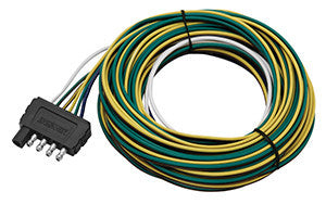 25 ft flat 5 trailer wiring harness 002275 pacific trailers rh pacifictrailers com 7 pin flat wiring harness 5 pin flat wiring harness