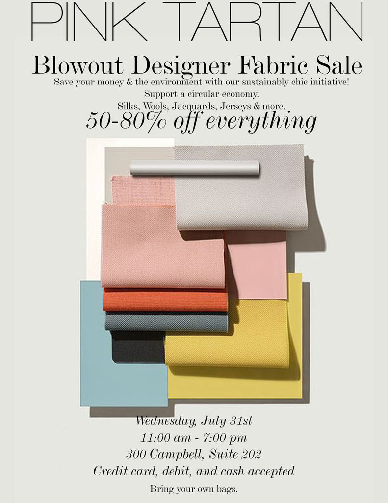 Designer Fabric Sale