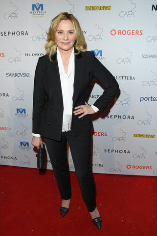 Kim-Cattrall-Pink-Tartan-Tuxedo-Sex-And-The-City-actress-canada