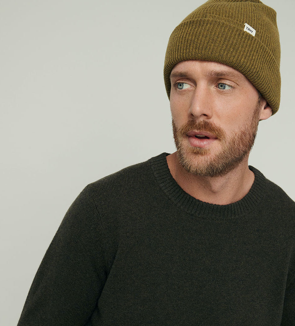 Tilley Merino Beanie - Black