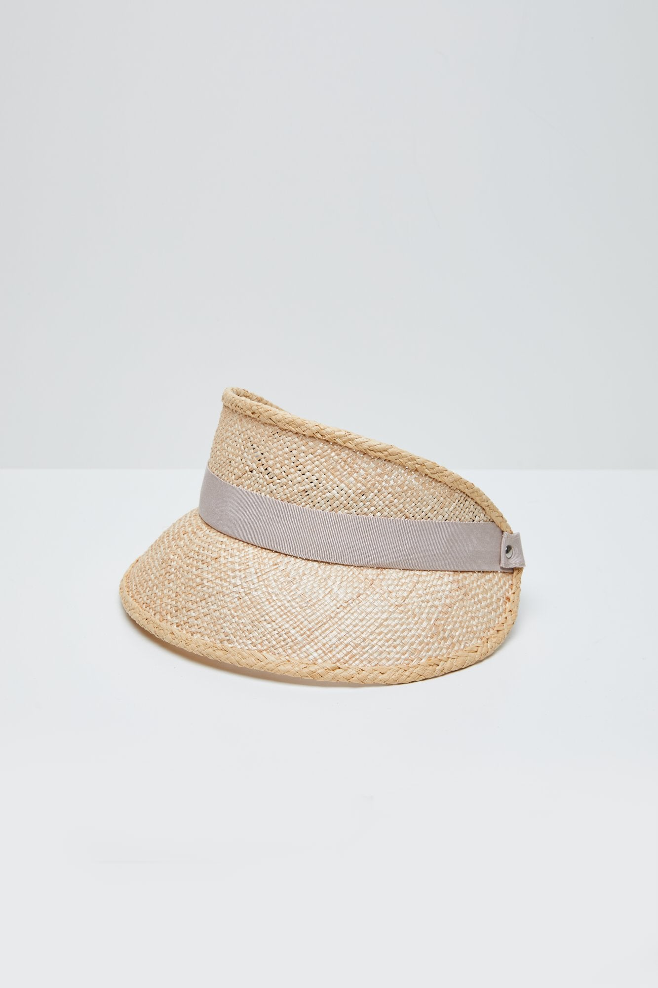 Straw Visor (Arbor) - Natural