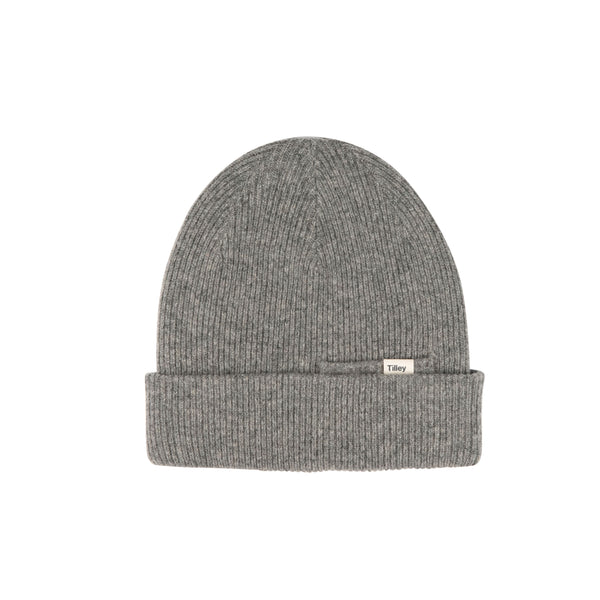 Tilley Merino Beanie - Charcoal