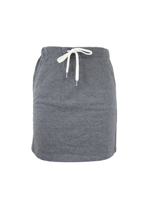 Easy Fit Skirt - Grey