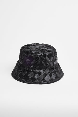 HHTextured Hat (Bucket) - Black