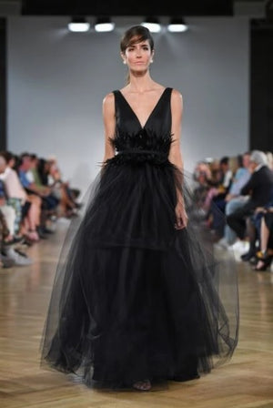 Open image in slideshow, KN Natalie Tulle Dress - Black
