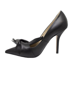N21 Black High Bow Pump