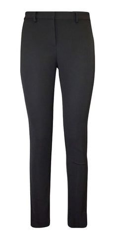 Black Essential Tech Zip Pant