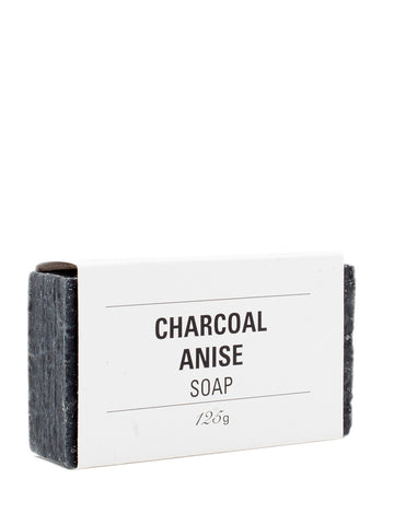 Charcoal Anise Soap 125g