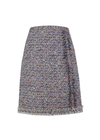 Multi Tweed Skirt