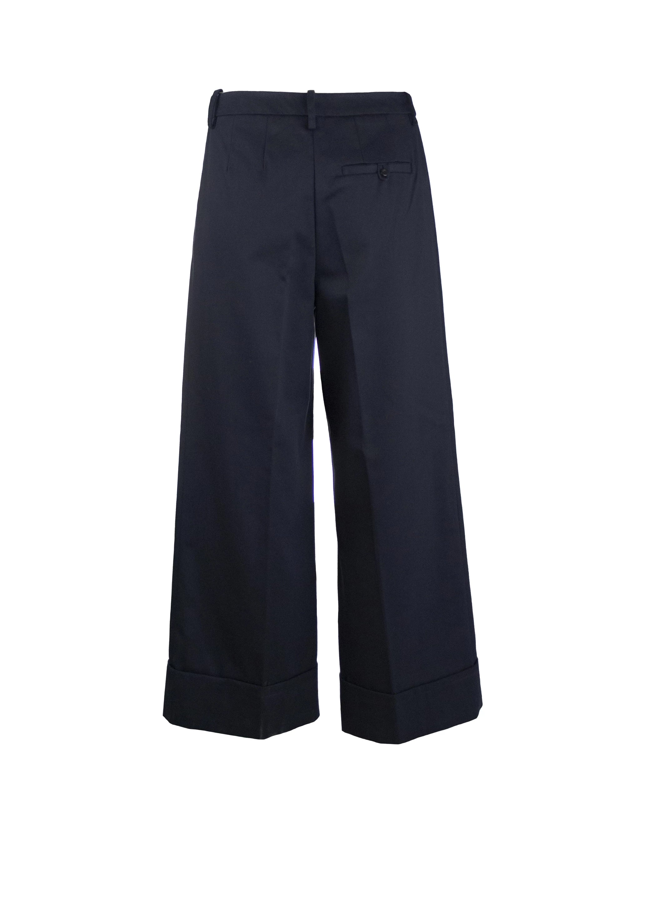 Twill Cuff Pant - Navy - Limited Quantities