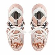 N21 Tan Billy Sneaker in Pink