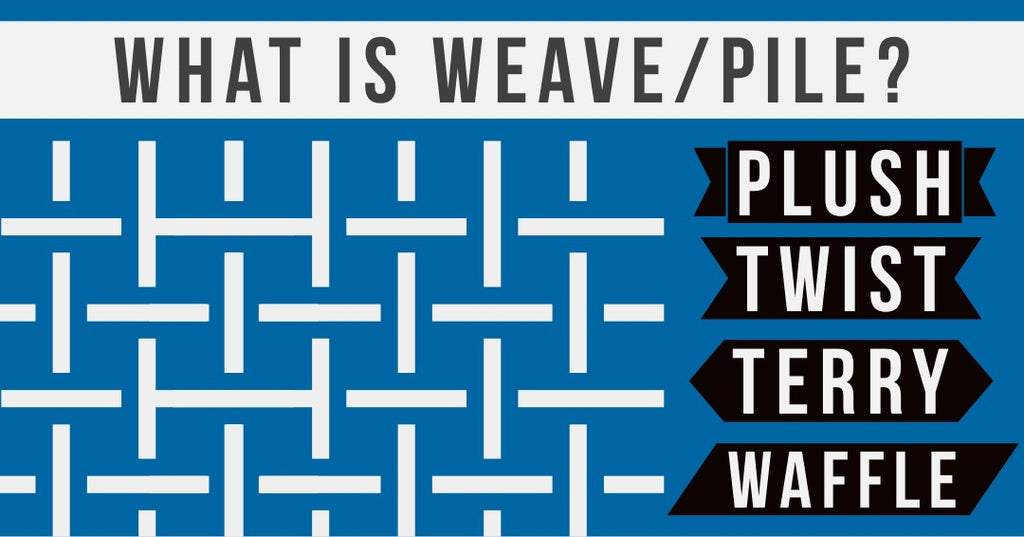 What is Pile or Weave? About Microfiber Types