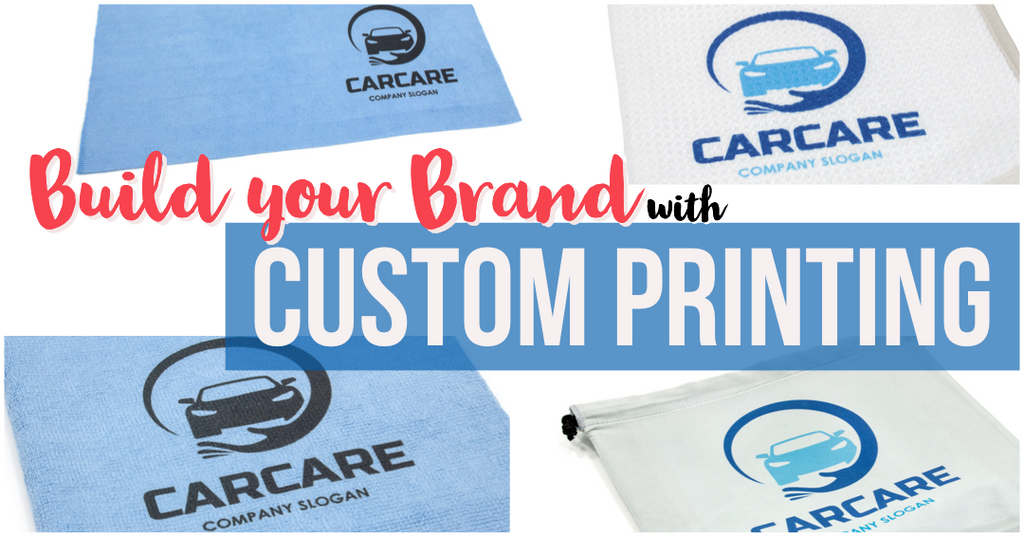 Build your Brand! - Custom Printing on Microfiber Towels