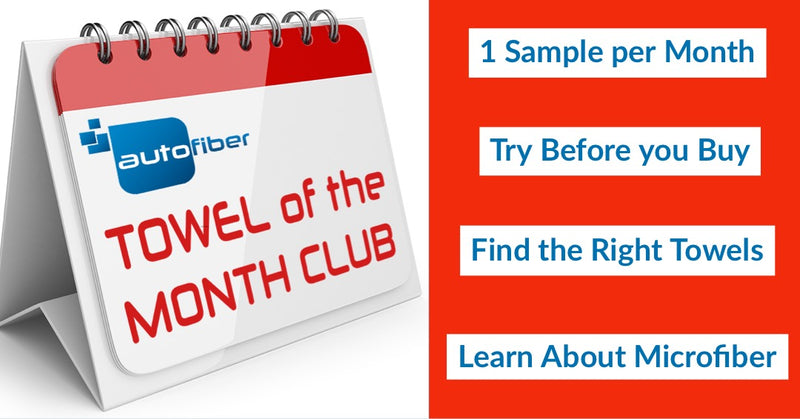Towel of the Month Club NEW!!