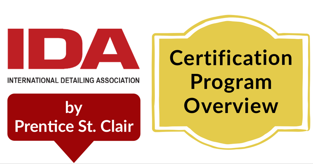 IDA Certification Program Overview