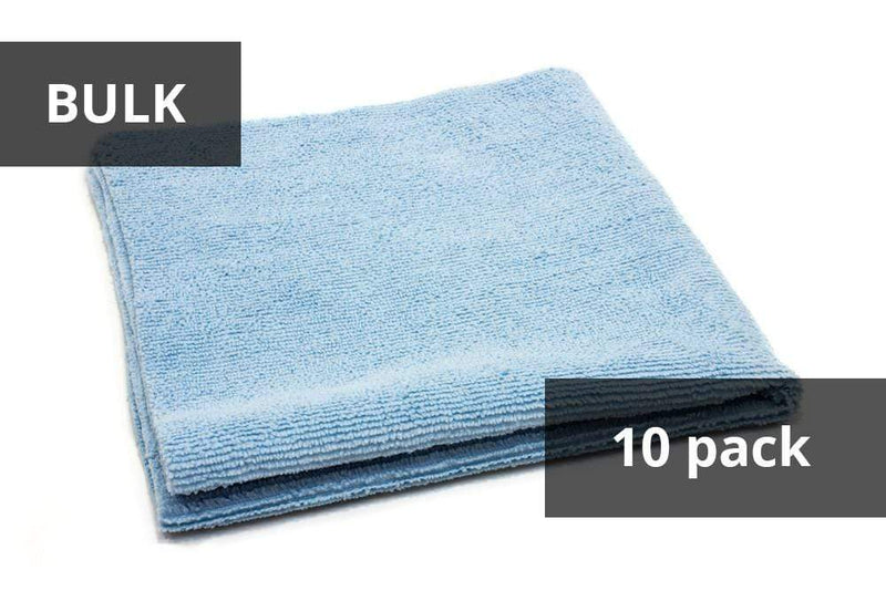 Autofiber Blue BULK BUNDLE [Utility] All-Purpose Edgeless Microfiber Towel (16 in x 16 in., 300 gsm) 10pack