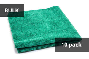 Autofiber Green BULK BUNDLE [Utility] All-Purpose Edgeless Microfiber Towel (16 in x 16 in., 300 gsm) 10pack