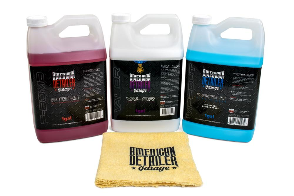 American Detailer Garage Kit [All American Kit] American Detailer Garage 3 Pack Gallons
