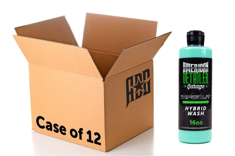 American Detailer Garage [Wipeout] Hybrid Wash GREEN - Pints (16 oz) - Case of 12