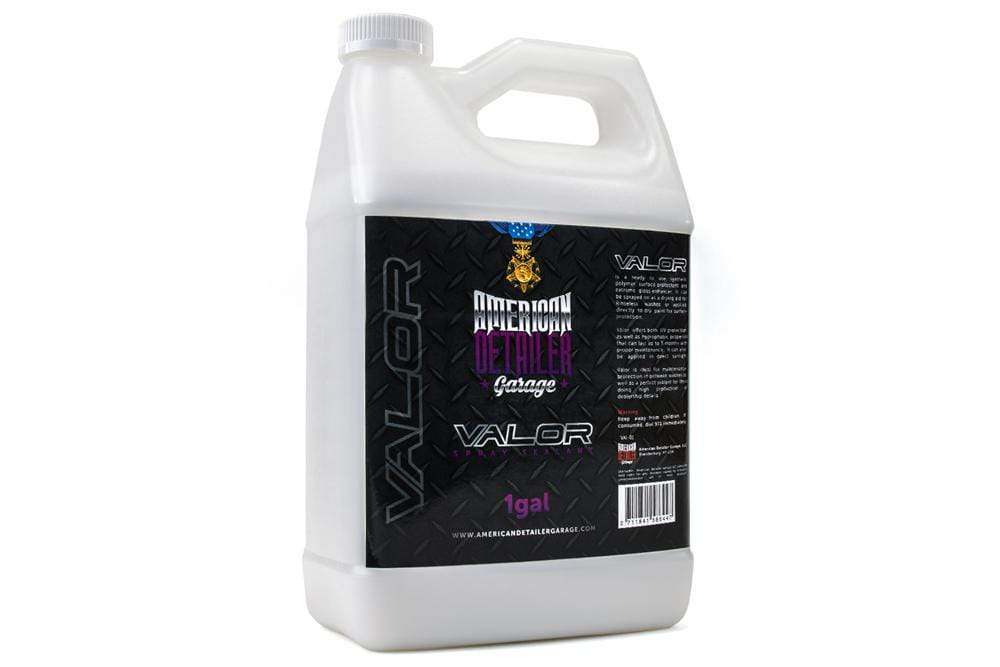American Detailer Garage Chemical [VALOR] Spray Sealant & Drying Aid - Gallon (128 oz.)
