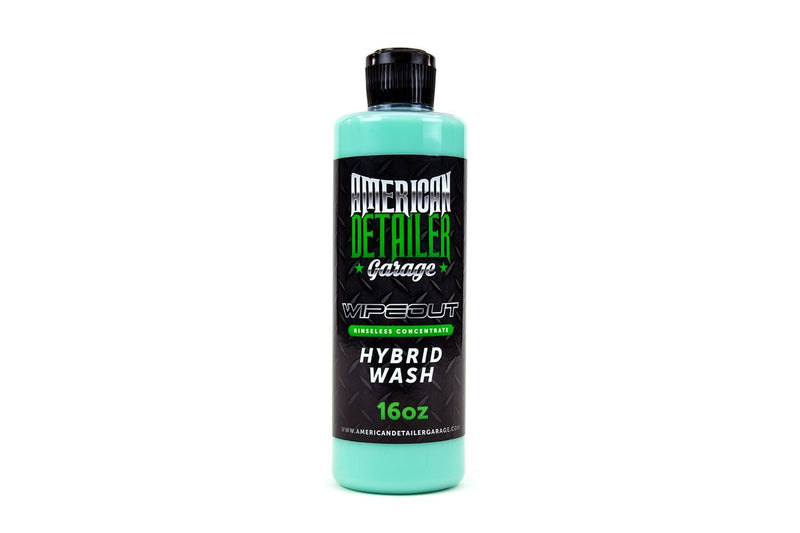 American Detailer Garage Chemical Green [WIPEOUT] Hybrid Waterless Wash Concentrate - Pint