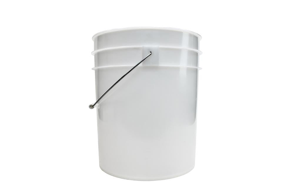 Autofiber [BLANK BUCKET] 5 Gallon Clear with No Branding