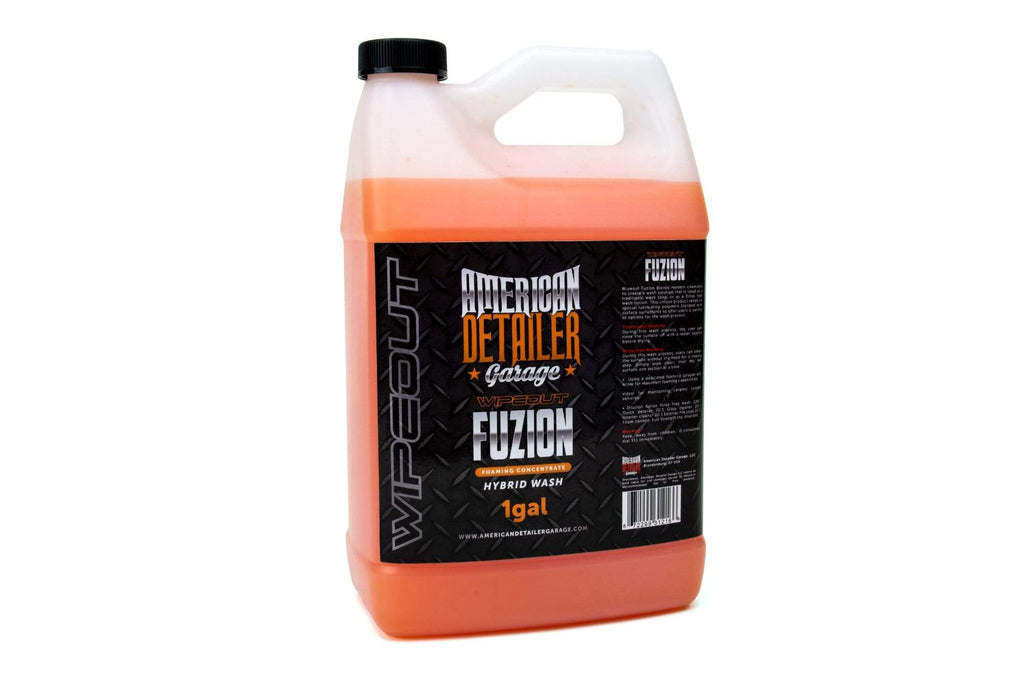 American Detailer Garage Chemical Gallon [FUZION] Hybrid Foaming Wash Concentrate - For Traditional and Rinseless Car Wash