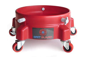 Grit Guard Accessory Red Bucket Dolly by Grit Guard