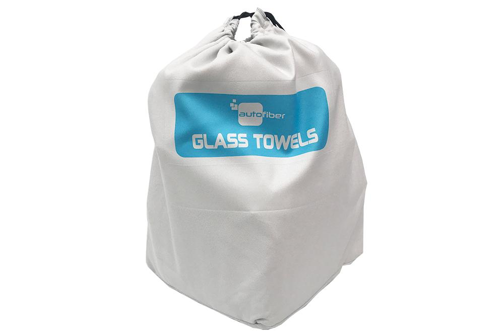 Autofiber Glass [Sort & Store Bucket Bag] Microfiber Towel Organizing Bags (1 pack)