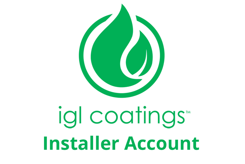 IGL Coating Installer Wholesale Account