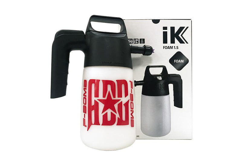 IK Sprayer Accessory [IK FOAM 1.5 for F-BOMB] Handheld Foaming Sprayer 35 oz.