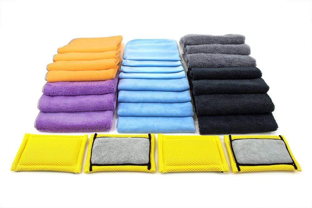 [The Jimbo Kit] A Selection of Premium Microfiber Chosen by Jimbo of the Auto Detailing Podcast