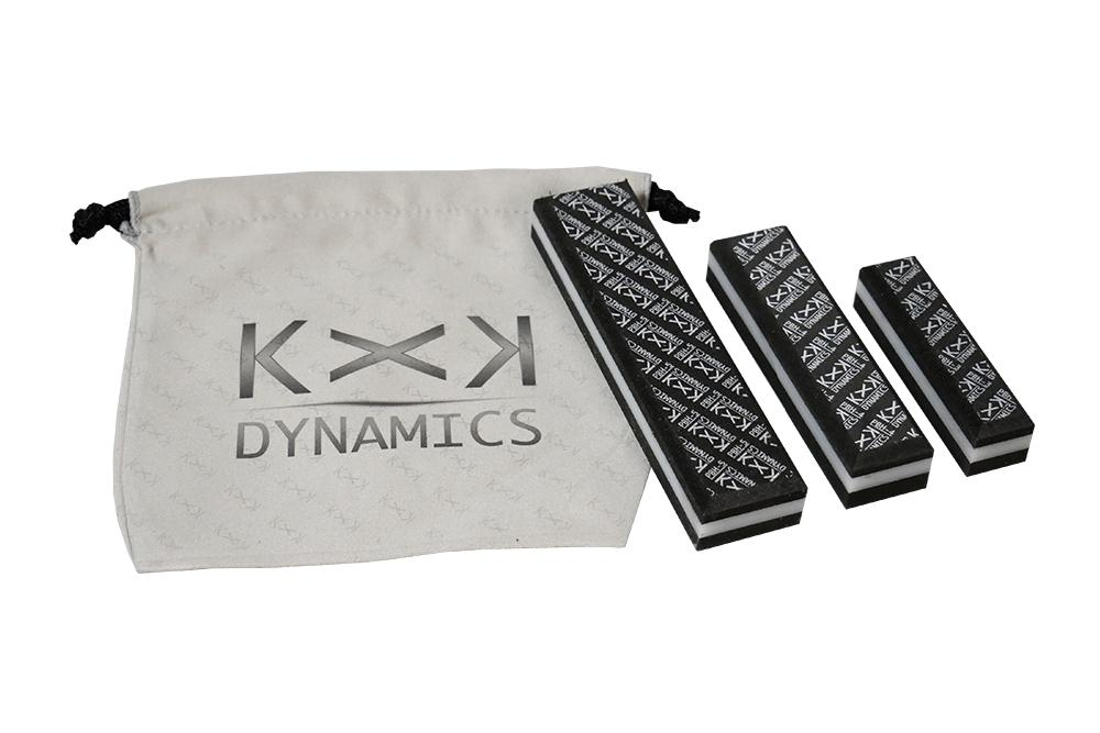 KxK Dynamics Accessory [PALM BLOX Hard] Sanding Blocks (3-Piece Set)